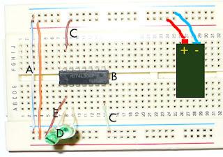 Comprobaci n de los circuitos integrados not 7404 and for Puerta xor de tres entradas