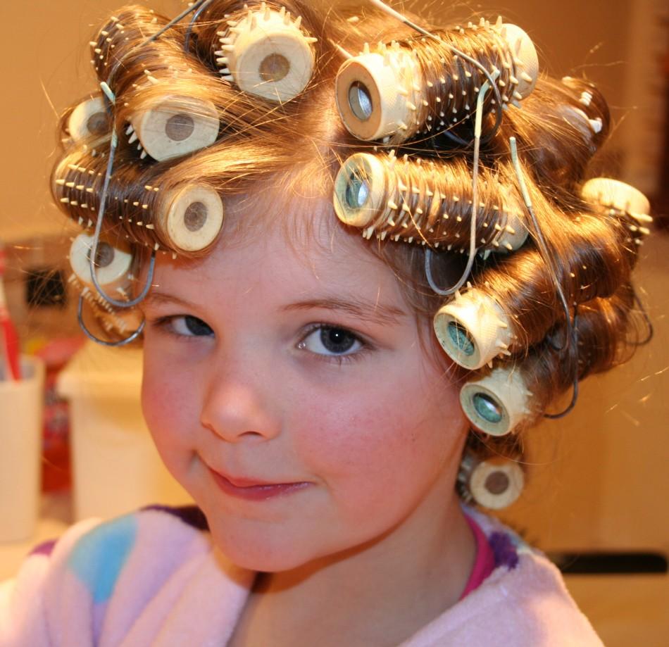 Feminine Boys In Hair Rollers Little Boy Hair In Curlers