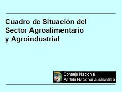 Cuadro de Situación del Sector Agroalimentario y Agroindustrial