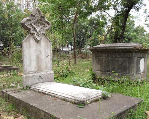 Christian Cemetery in Wari - Dhaka