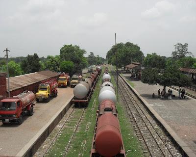 natore, railway station