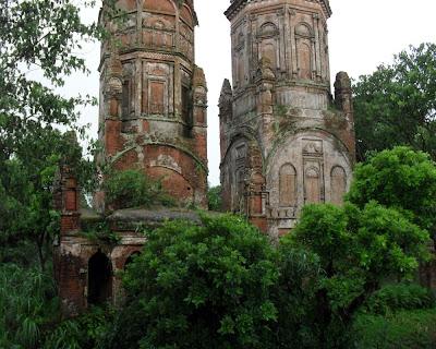 Sonarong jora moth, twin temple, tongibari, munshiganj, bangladesh