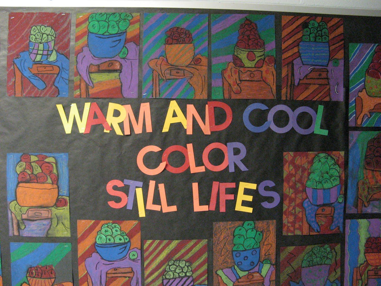 Mrs Clause S Creative Classroom 5th Grade Still Life S
