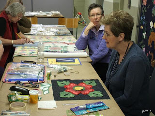 London Friendship Quilters Guild Rosemary Makhan Workshop