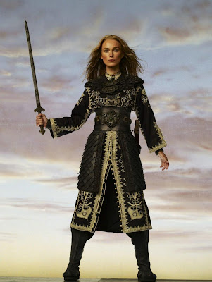 Keira Knightley - Pirates of the Caribbean 3 Costume