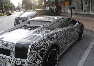 Lamborghini Body Painting