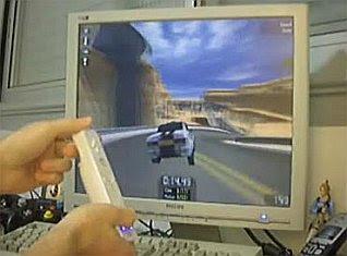 Mando Wii volante
