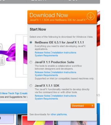 JavaFX 1 2 Released @ JavaOne Conference - Tech Quark