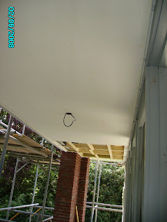 Plafond overkapping buiten – Gewolmaniseerd tuinhout