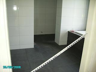 Vloertegels Voor Badkamer : Nieuwbouw sluitgatweg vloertegels badkamer