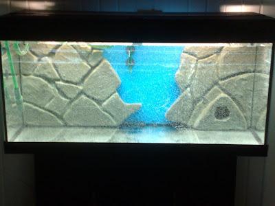 Juwel aquarium kit droogtijd