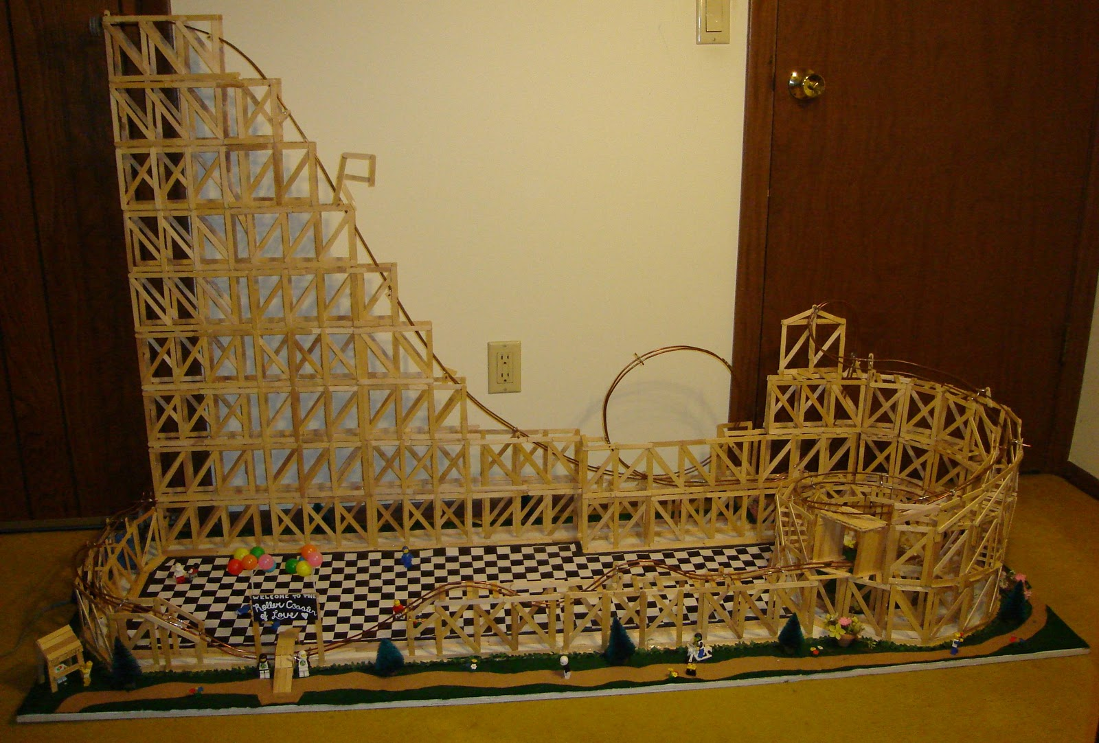 Whitham Physics: Marble Roller Coaster Examples