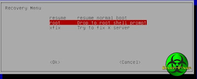 ubuntu recovery root