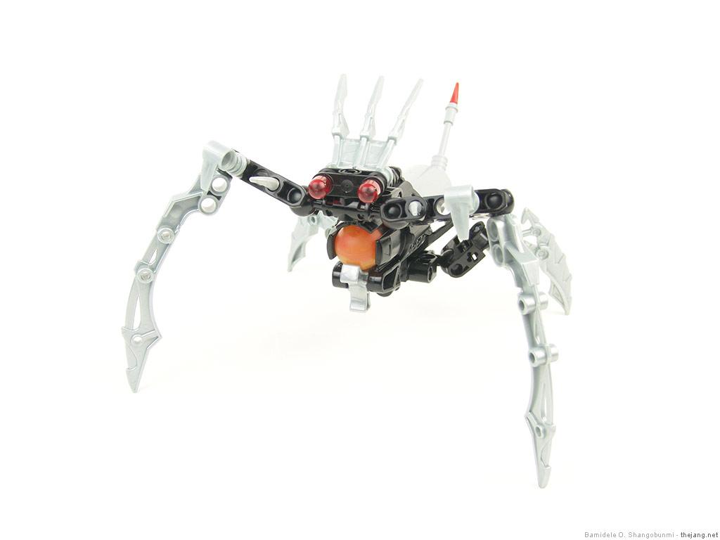 Lego Hero Factory Moc Anansi Mobile Gun Drone