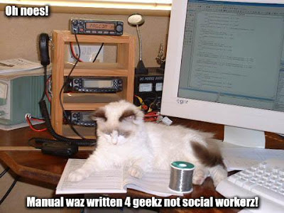 OH NOES! MANUAL WAZ WRITTEN 4 GEEKZ NOT SOCIAL WORKERZ!