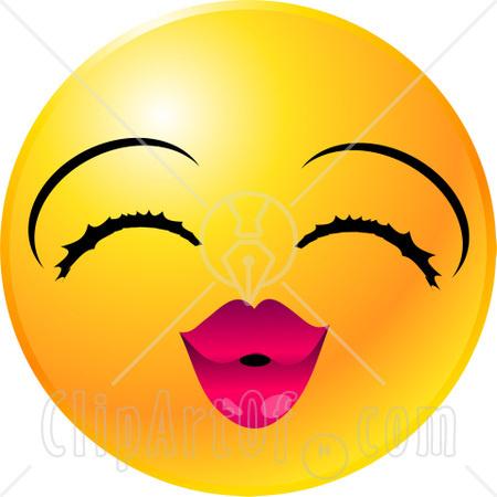 Smiley Face Kiss