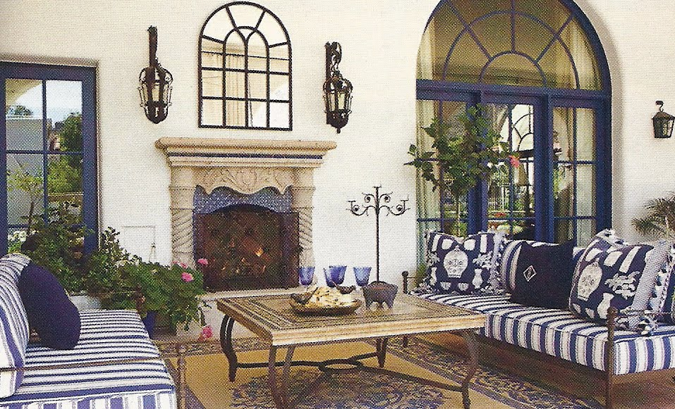US Interior Designs: SPANISH STYLE IN SANTA BARBARA