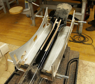 Guitar neck router Jig