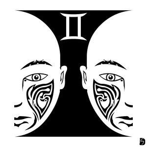 842eb8b3c Zodiac Tattoo Designs With Image Zodiac Symbol Picture Tribal Gemini Tattoo