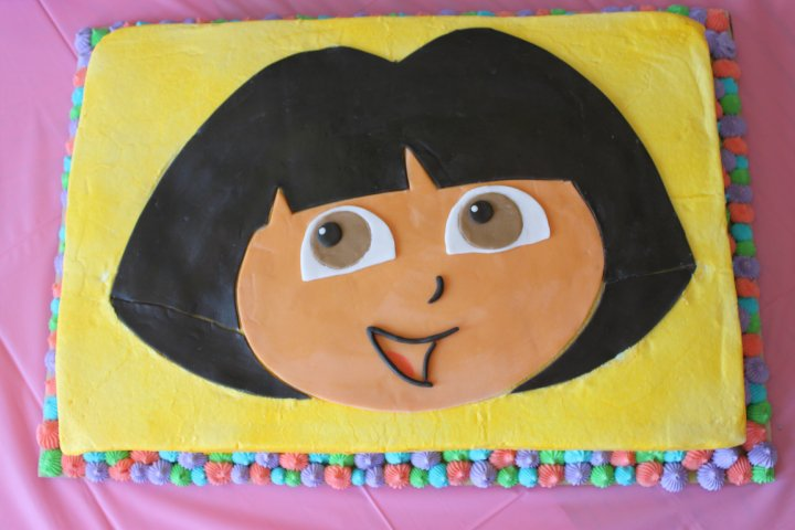 Maria's Sweet Adventures: My Daughter's 2nd Birthday Cakes ...