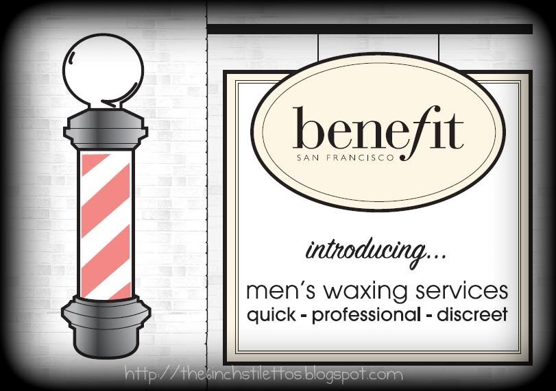 Christmas Gift Guide: Benefit Men's Waxing Service