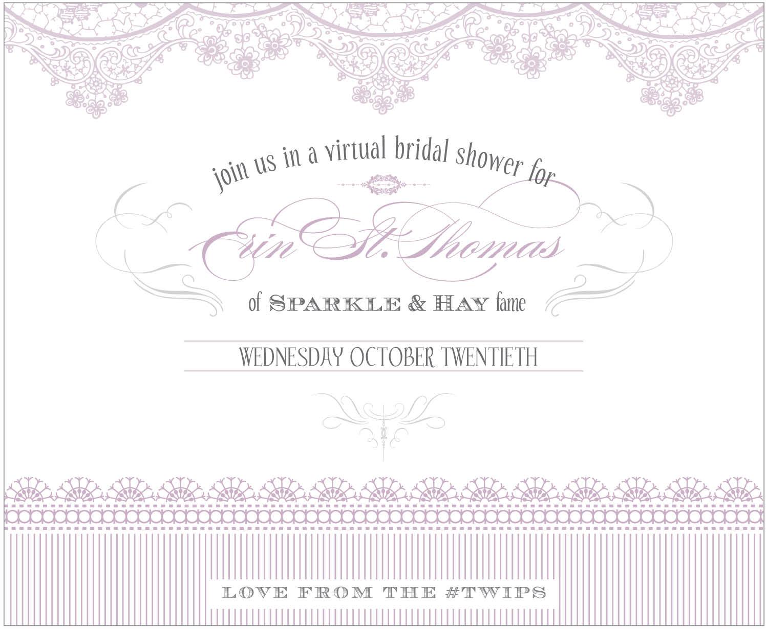 Bridal Shower Invitations Invitation Poems