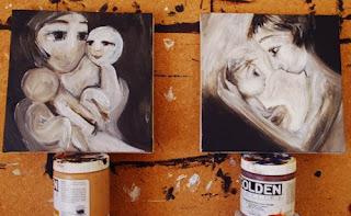 Progress on Paintings: Keep & New 8x8s