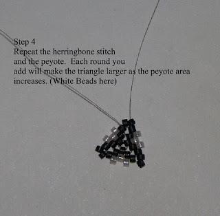 Queenie's Beads: Triangle Tutorial Part 2
