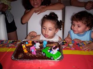 cumpleaños, tarta pocoyo