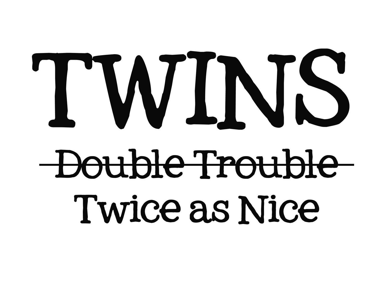 Double The Trouble Quotes: Digi-design: New T-shirt Designs