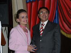 Pippo Bufardeci e Ornela Hila,