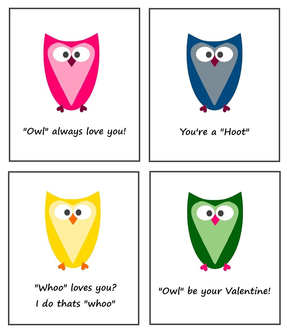 Ready, Set, Create!!: Cuuute Heart Owl Valentines!