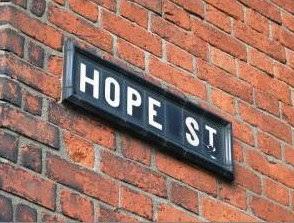 Be hopeful