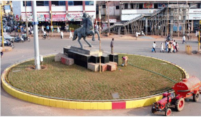 Kitturu Rani Chennamma Circle, Hubli