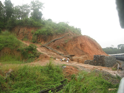 Barricades To Avoid Landslides