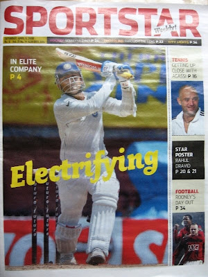 The Sportstar in tabloid format