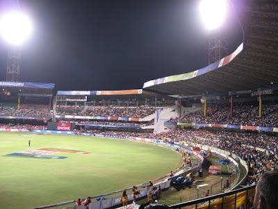 Chinnaswamy Stadium, Bangalore