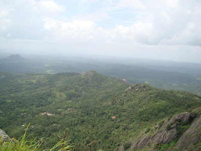 Birds view from Edakal Peak