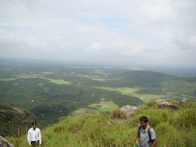View from Edakal Peak