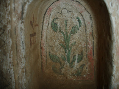 Paintings in Chandravalli Caves