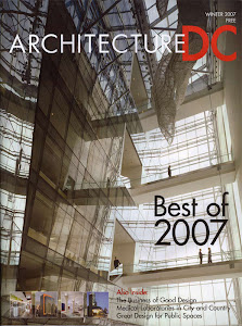 Read about us in the winter 2007 issue of Architecture DC