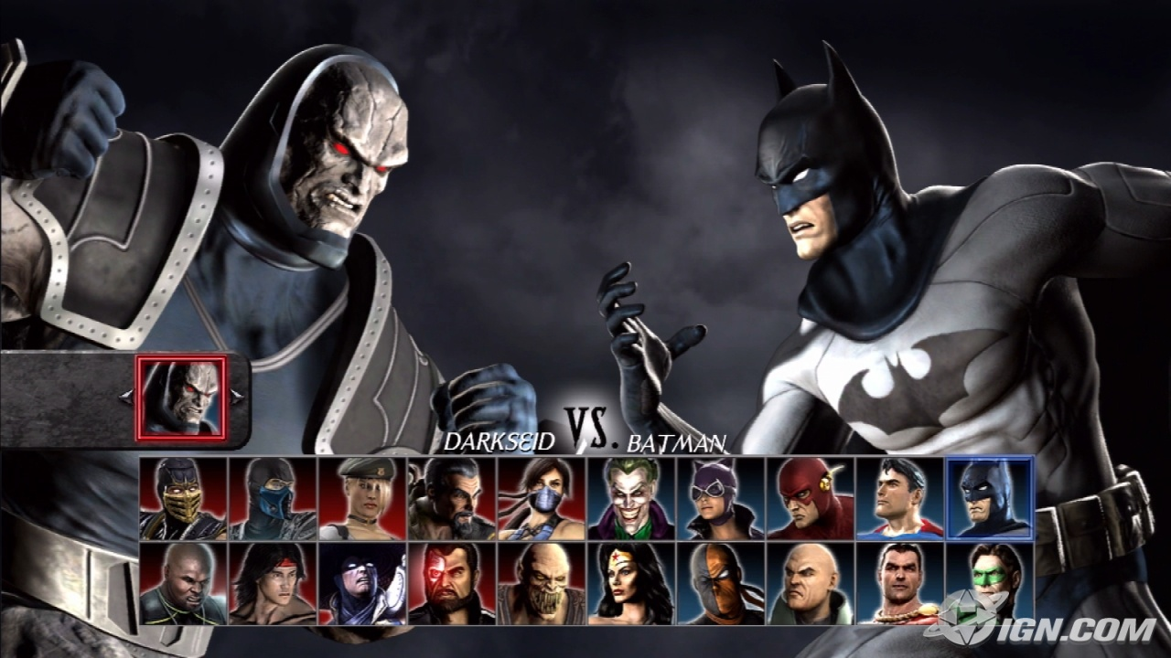 Mortal Kombat vs DC Universe (2008