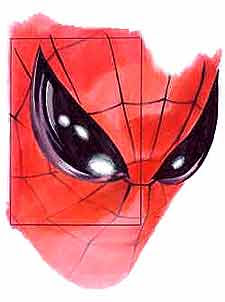 Unused Alex Ross Spider-Man design