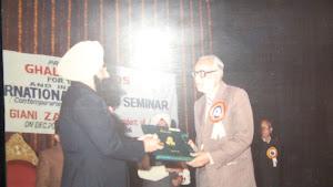 President Gyani Zail Singh