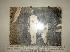 H.S.Z. Rahman addressing Tibbi Conference in 1959