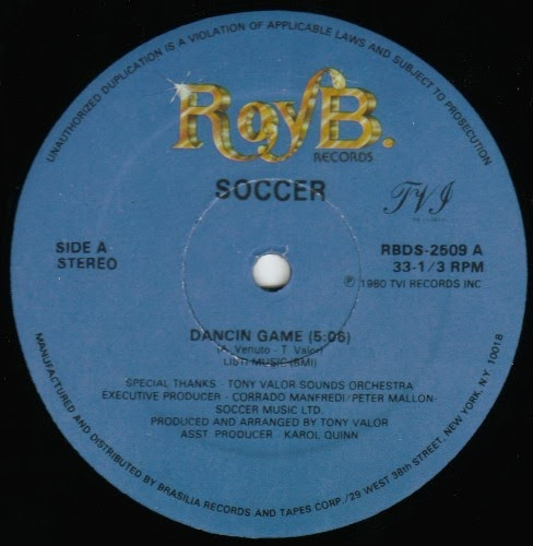 Soccer Dancin Game Give Me Your Love