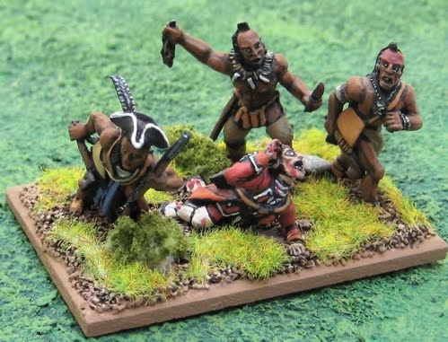 Tim S Miniature Wargaming Blog Indians And Aliens