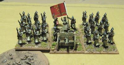Tim S Miniature Wargaming Blog More Russian Civil War Dba