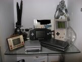 Mini-museum of Nintendo handhelds