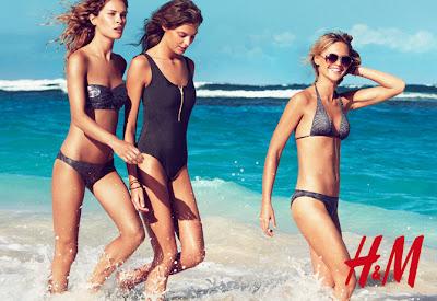 bikinis negros nueva colección primavera verano h&M